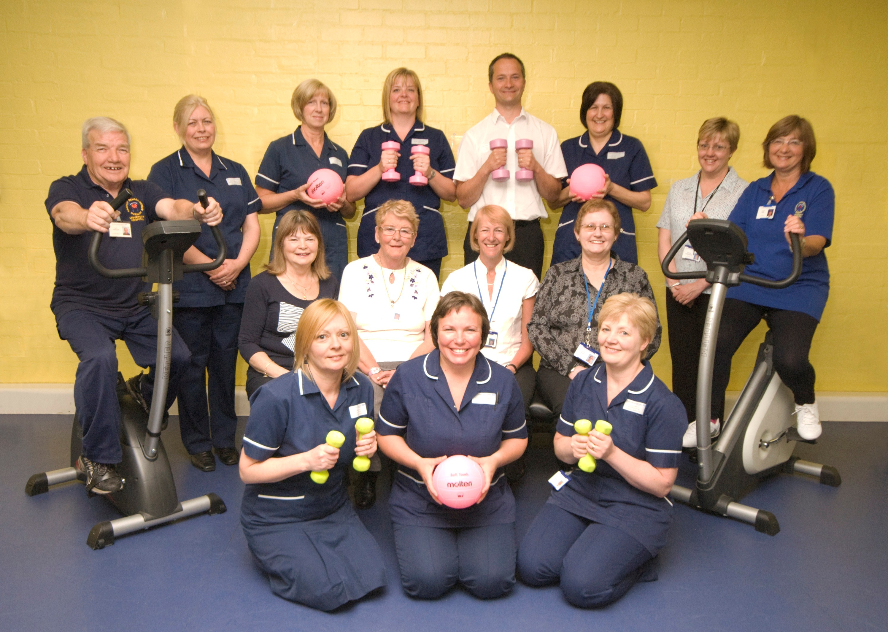 Cardiac Rehab team