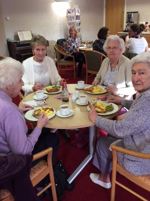 Undernutrition luncheon club