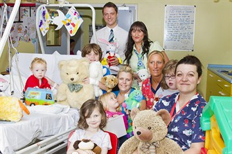 Toy Donation - DMH Childrens ward