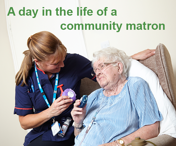 A day in the life of a community matron