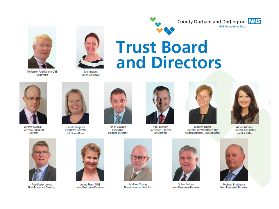 Trust Board Display March 2017