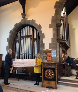 BAH charity Cheque 2019